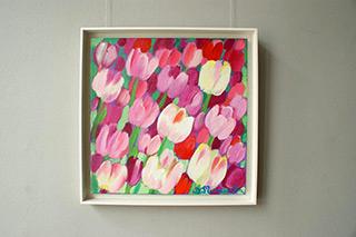Beata Murawska : Pink desire : Oil on Canvas