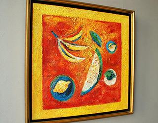 Darek Pala : Tropical still life : Oil on Canvas