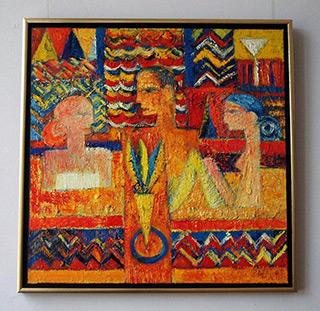 Darek Pala : Bath : Oil on Canvas