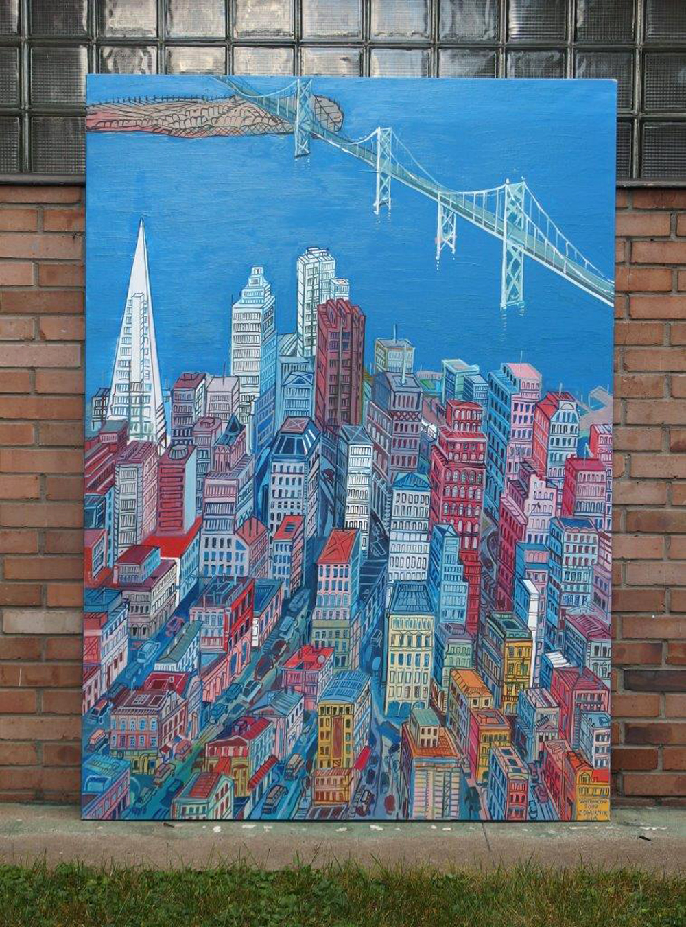 Edward Dwurnik : San Francisco