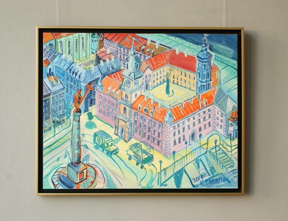 Edward Dwurnik : Warsaw - Royale Castle