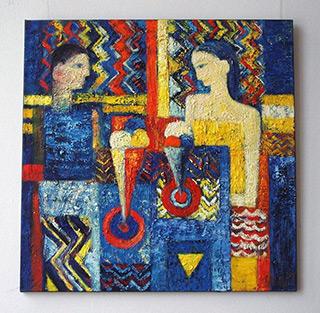Darek Pala : Ice Cream : Oil on Canvas
