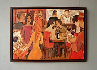 Krzysztof Kokoryn : Jukebox : Oil on Canvas