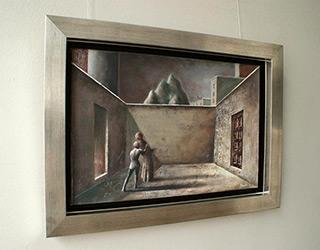 Łukasz Huculak : Surprise : Oil on Canvas