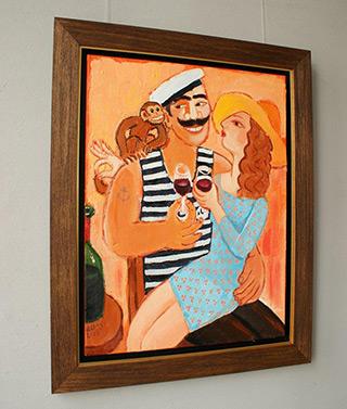 Krzysztof Kokoryn : Sailors bride : Oil on Canvas