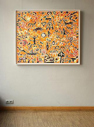 Krzysztof Pająk : Crescendo : Oil on Canvas