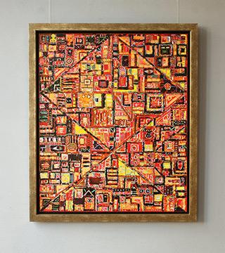 Krzysztof Pająk : Toward the sun : Oil on Canvas