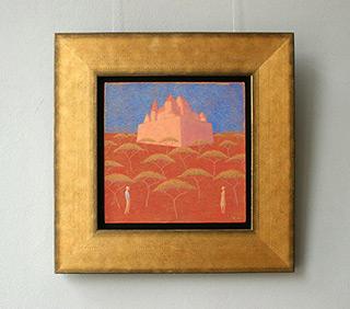 Mikołaj Kasprzyk : Castle : Oil on Canvas