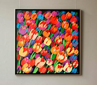 Beata Murawska : Autumn breeze : Oil on Canvas