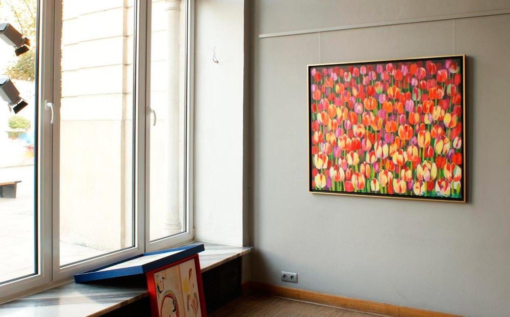 Beata Murawska : Tulips everywhere