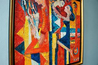 Darek Pala : Journey through love : Oil on Canvas