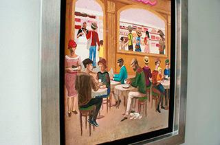 Katarzyna Karpowicz : Hungarian patisserie : Oil on Canvas
