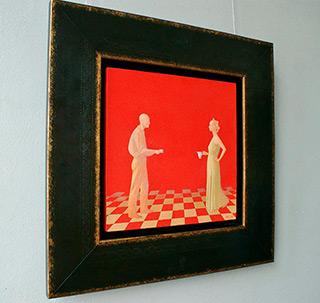 Mikołaj Kasprzyk : Coffee : Oil on Canvas