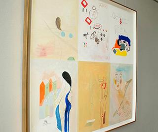 Jacek Cyganek : A lot, but nothing personal : Tempera on canvas