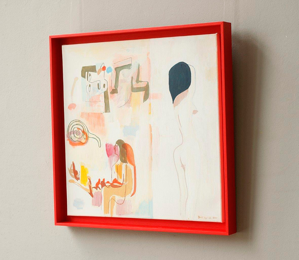 Jacek Cyganek : And when we disappear (red frame)