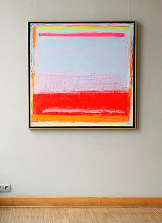Sebastian Skoczylas : November rain : Oil on Canvas