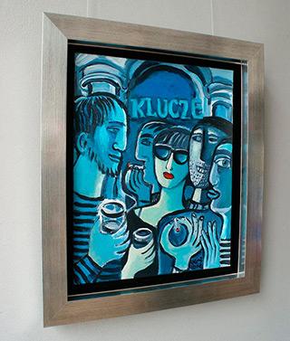 Krzysztof Kokoryn : Keys (Small version) : Oil on Canvas