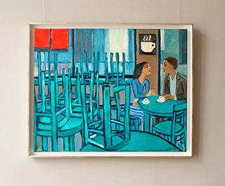 Krzysztof Kokoryn : Last guests : Oil on Canvas