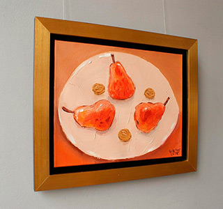 Krzysztof Kokoryn : Pears : Oil on Canvas