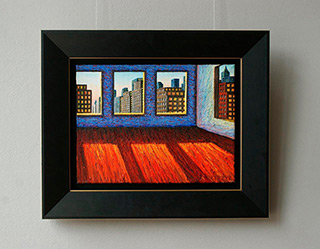 Adam Patrzyk : Room with a view : Oil on Canvas