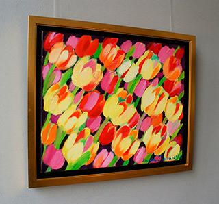 Beata Murawska : Garden of joy : Oil on Canvas