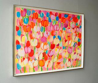 Beata Murawska : Just bouquet : Oil on Canvas