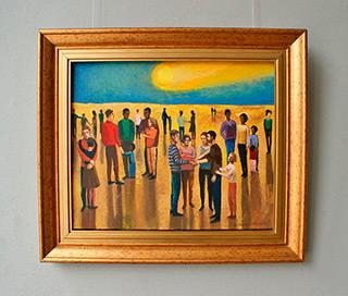 Katarzyna Karpowicz : Farewell : Oil on Canvas