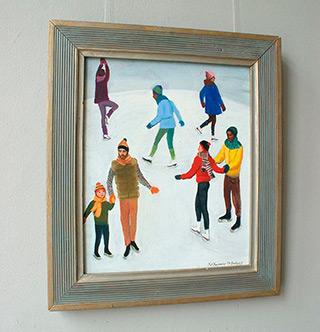 Katarzyna Karpowicz : Rink : Oil on Canvas