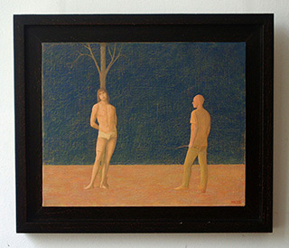 Mikołaj Kasprzyk : Saint Sebstian : Oil on Canvas