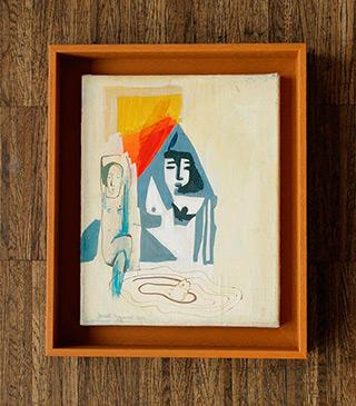 Jacek Cyganek : Everything is clearer in my dreams : Tempera on canvas