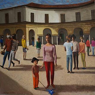 Katarzyna Karpowicz : Mantua : Oil on Canvas
