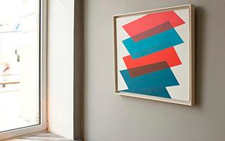 Joanna Stańko : Optimal balance : Oil on Canvas