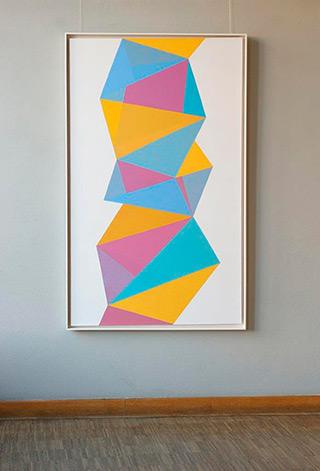 Joanna Stańko : Crystallization : Oil on Canvas
