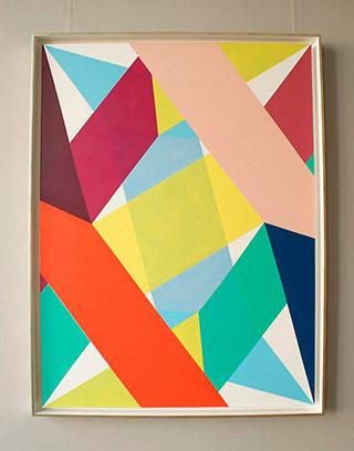 Joanna Stańko : Passage by colors : Oil on Canvas