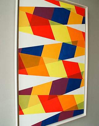 Joanna Stańko : Equilibrium assay : Oil on Canvas
