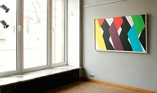 Joanna Stańko : Shift to black (Horizontal) : Oil on Canvas