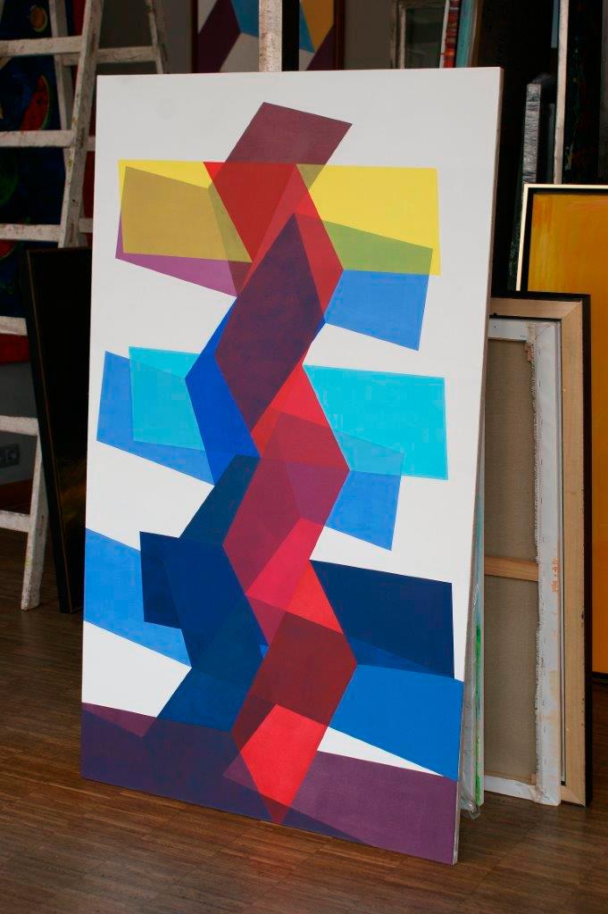 Joanna Stańko : Two dancing colors