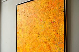 Krzysztof Pająk : Alhambra III : Oil on Canvas