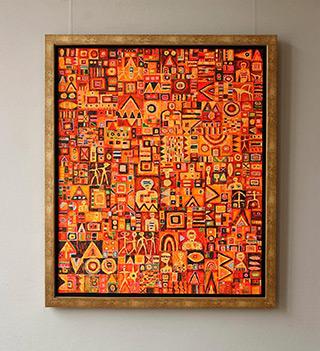 Krzysztof Pająk : Navarra : Oil on Canvas