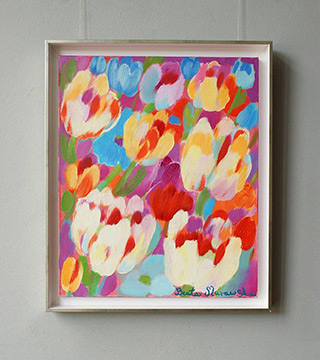 Beata Murawska : Breath of spring : Oil on Canvas