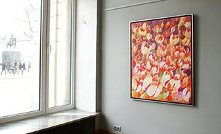 Beata Murawska : Dream about spring (silver frame) : Oil on Canvas
