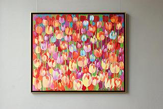 Beata Murawska : Spring day : Oil on Canvas