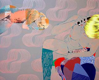 Agnieszka Sandomierz : Call : Tempera on Canvas