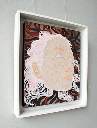 Agnieszka Sandomierz : Medusa : Tempera on canvas