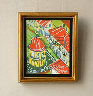 Edward Dwurnik : Szczecin - Podjuchy : Oil on Canvas