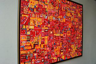 Krzysztof Pająk : Tokio drift : Oil on Canvas
