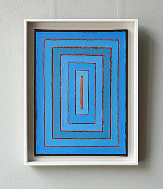 Łukasz Majcherowicz : Ray of light : Oil on Canvas