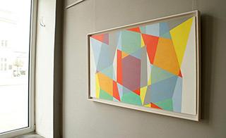 Joanna Stańko : Locked : Oil on Canvas