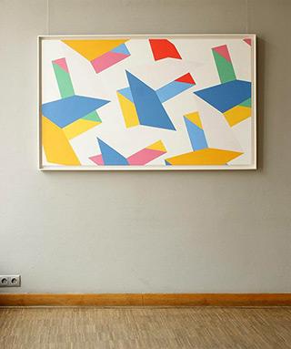 Joanna Stańko : Split up : Oil on Canvas