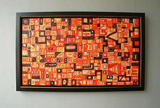 Krzysztof Pająk : Alcantara : Oil on Canvas